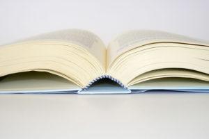 Dettaglio dorso libro