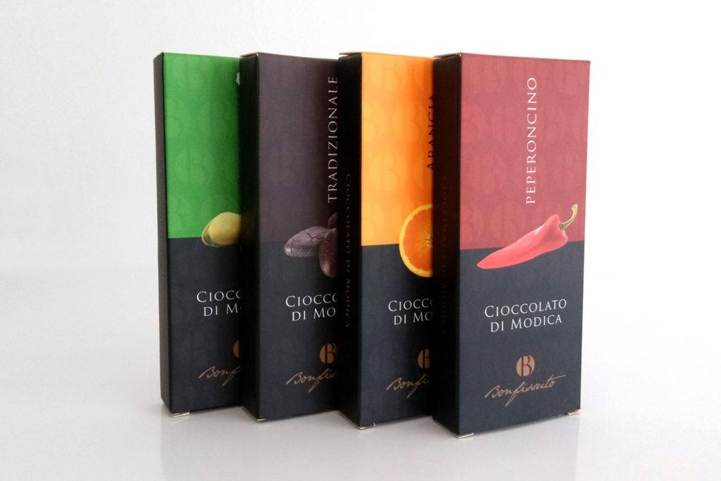 Astucci cioccolata vari gusti
