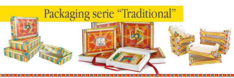 serie di scatole con tema siciliano