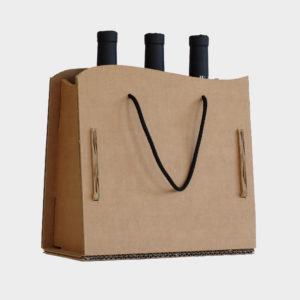 scatola da vino 3 bottiglie - wawe
