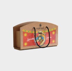 scatola cartone greenbag 3 vasetti siciliana