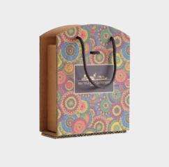 scatola cartone greenbag 4 vasetti