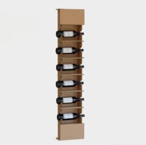 espositoreda terra 6 bottiglie in cartone