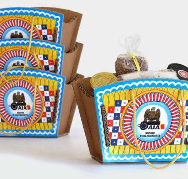 coffa siciliana, stampa scatola siciliana, scatole sicilian style, scatole personalizzate sicilia, scatole GreenBag, scatole green sicilia